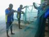 Persiapan pengoperasian gill net di Samber Biak