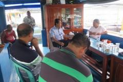 Kepala Balai bersama Deputi SDM Menko Kemaritiman (Sapri Burhanuddin)