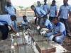 Pembuatan Bioreeftek di Wangel Dobo