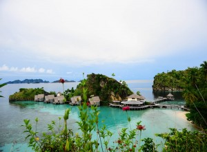 Pemandangan Pantai Jayapura