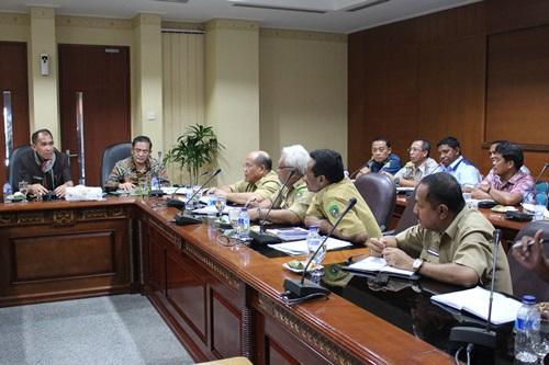 Kepala BPPP Ambon Rapat Bersama Gubernur Maluku