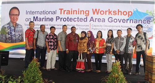 Pegawai BPPP Ambon Mengikuti International Training Workshop on Marine Protected Area Governance, di Bali