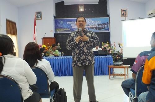 Kapuslat KP, Dr. Ir. Santoso, M.Phil, Menjadi Narasumber Pelatihan di BPPP Ambon