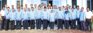 Pegawai BPPP Ambon Tahun 2014