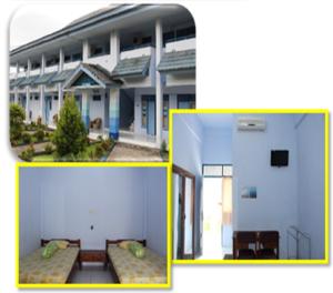 Ruang Akomodasi (Asrama 40 kamar Kapasitas 120 orang)