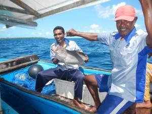 Ikan Hasil Tangkapan Praktek Pengoperasian Rawai Dasar